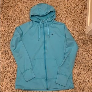 Nike zip up women's XL